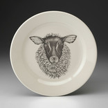 Laura Zindel Design Salad Plate Suffolk Sheep D1SALFASS