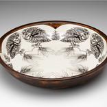 Laura Zindel Design Screech Owl Small Pasta Bowl