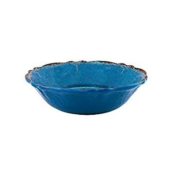 Le Cadeaux Antiqua Blue Cereal Bowl