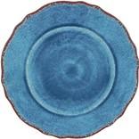 Le Cadeaux Antiqua Blue salad plate