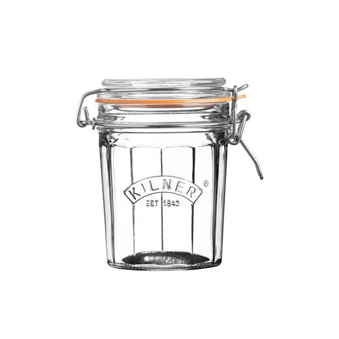Kilner Facetted Clip Top Jar 8.4 fl oz