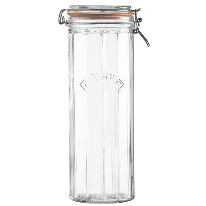 Kilner Facetted Clip Top Jar 74 fl oz