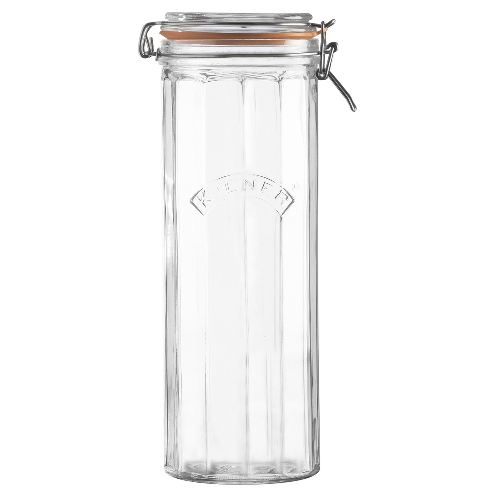 Kilner Facetted Clip Top Jar 74 fl oz