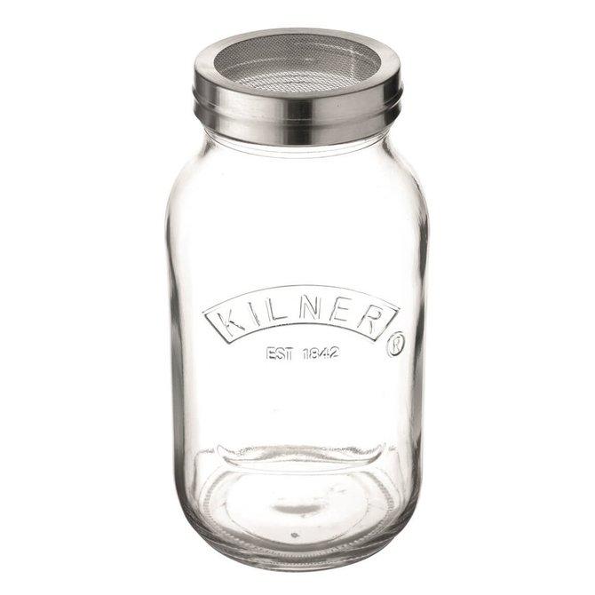 Kilner Storage Jar with Sifter Lid 34 fl oz