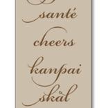 Maison de Papier Cheers in Languages Bag