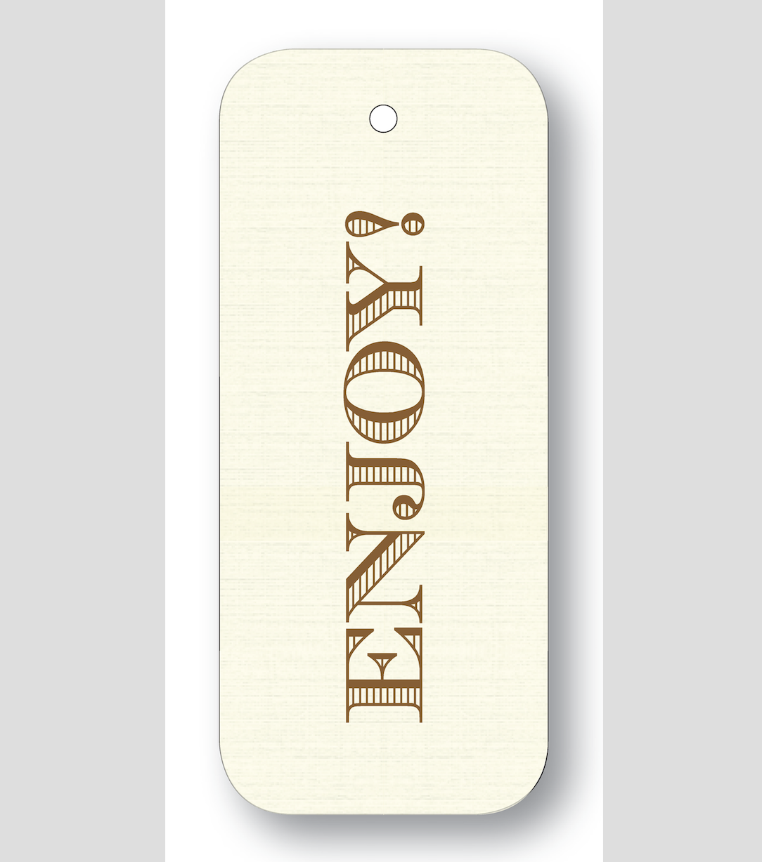 Maison de Papier Enjoy Chocolate  gift tags