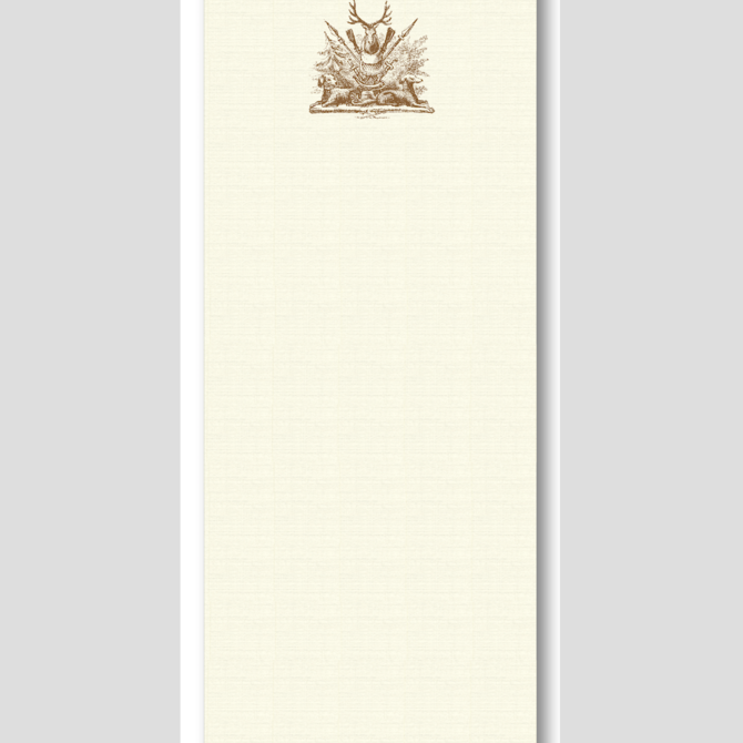Maison de Papier Hunt Trilogy Notepad