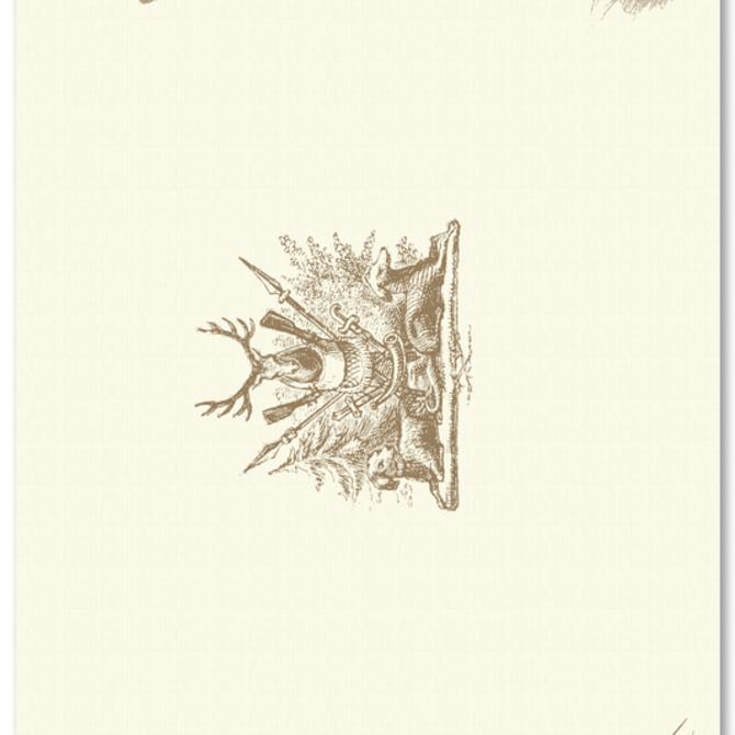 Maison de Papier Hunt Trilogy Placemats