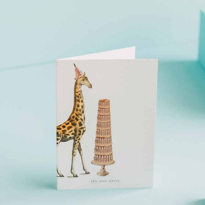 Margot Elena 16M37 It's Your Party Card