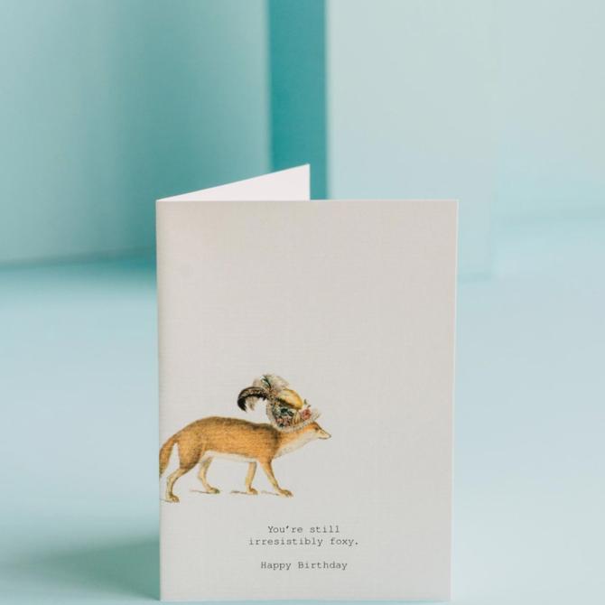 Margot Elena Tokyo Milk Irresistibly Foxy Card