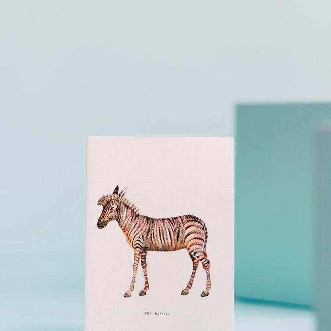 Margot Elena Tokyo Milk Be Bold (Zebra) Card