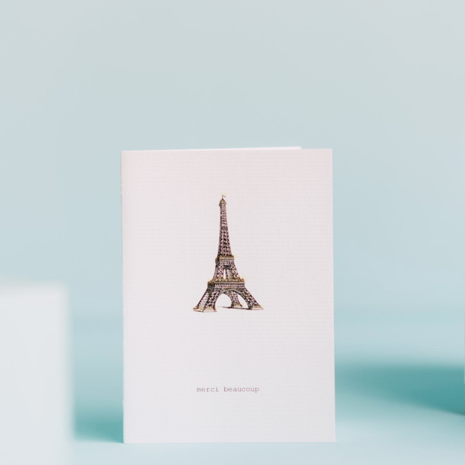 Margot Elena Tokyo Milk Merci Beaucoup (Tour Eiffel) Card