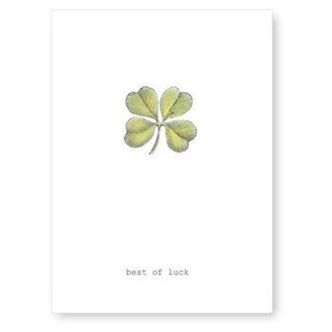 Margot Elena Tokyo Milk Good Luck Clover Card