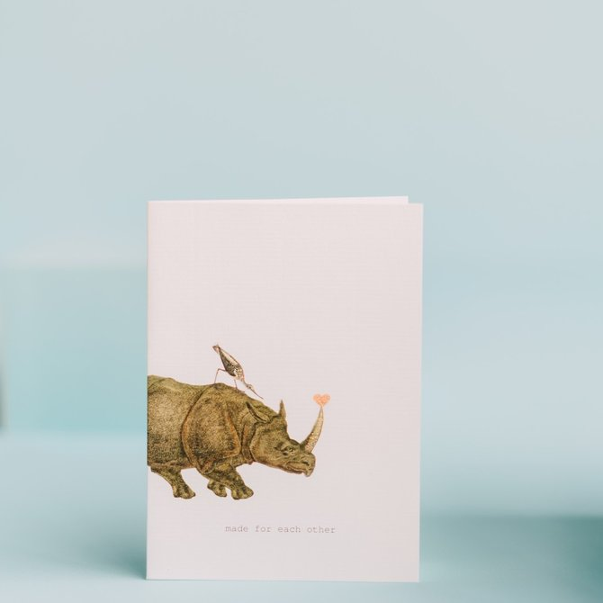 Margot Elena Toyko Milk Made for Each Other Card