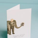 Margot Elena 16M25 We Can't Ignore The Elephant Card