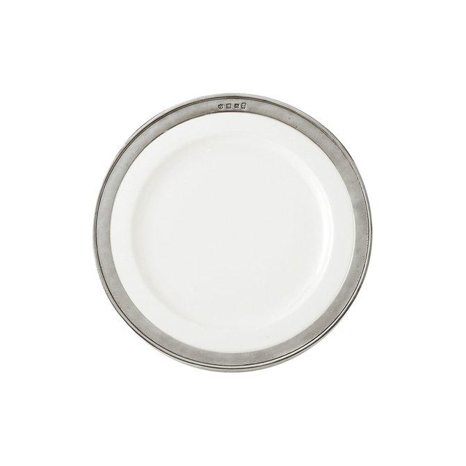 Match Convivio Salad/Dessert Plate, White