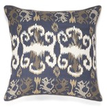 New Moon LW63, Indigo Linen Pillow 22x22