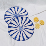 Pomelo Dinner Plate Blue