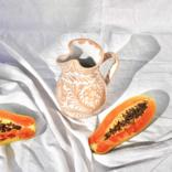 Pomelo Pitcher Peach Medium