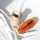 Pomelo Pitcher Peach Small