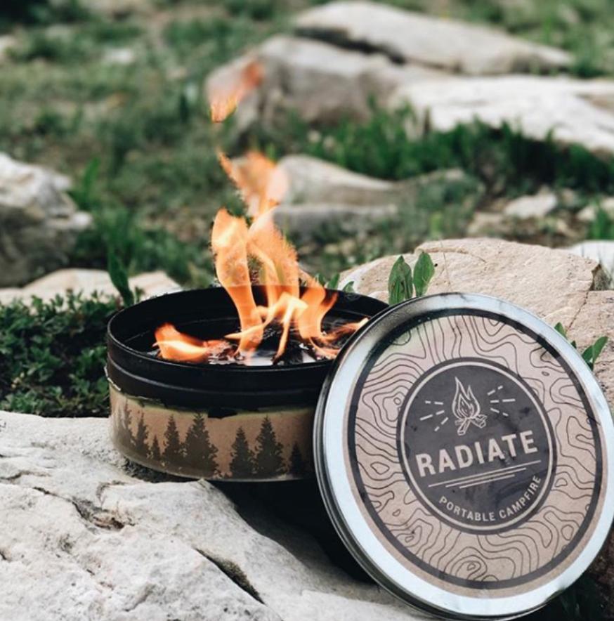Radiate Radiate portable campfire