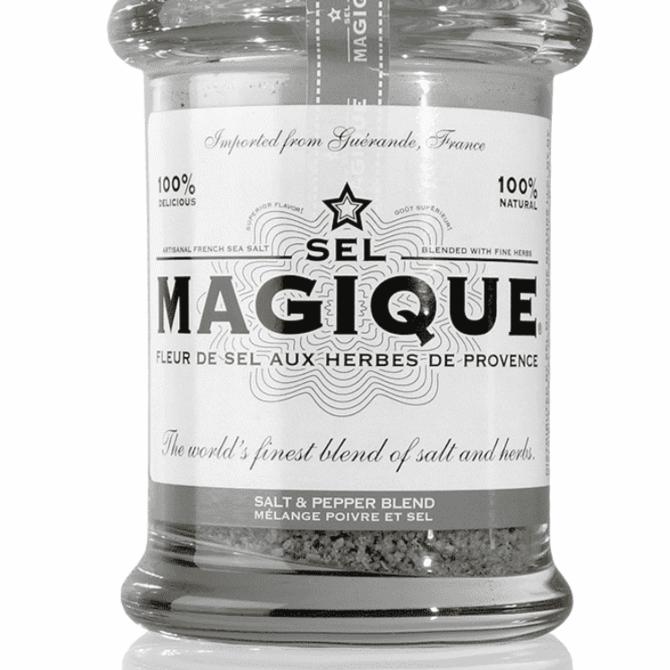 Sel Magique Large Jar Salt & Pepper Blend