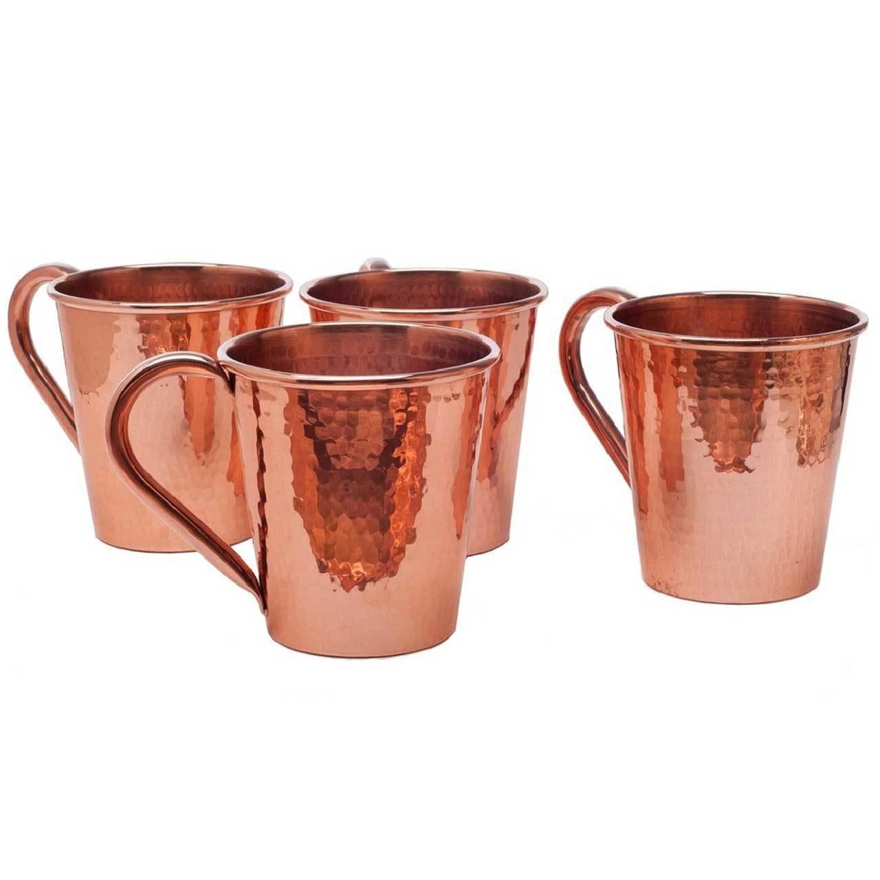 Sertodo Copper Moscow Mule Mug 12oz copper handle
