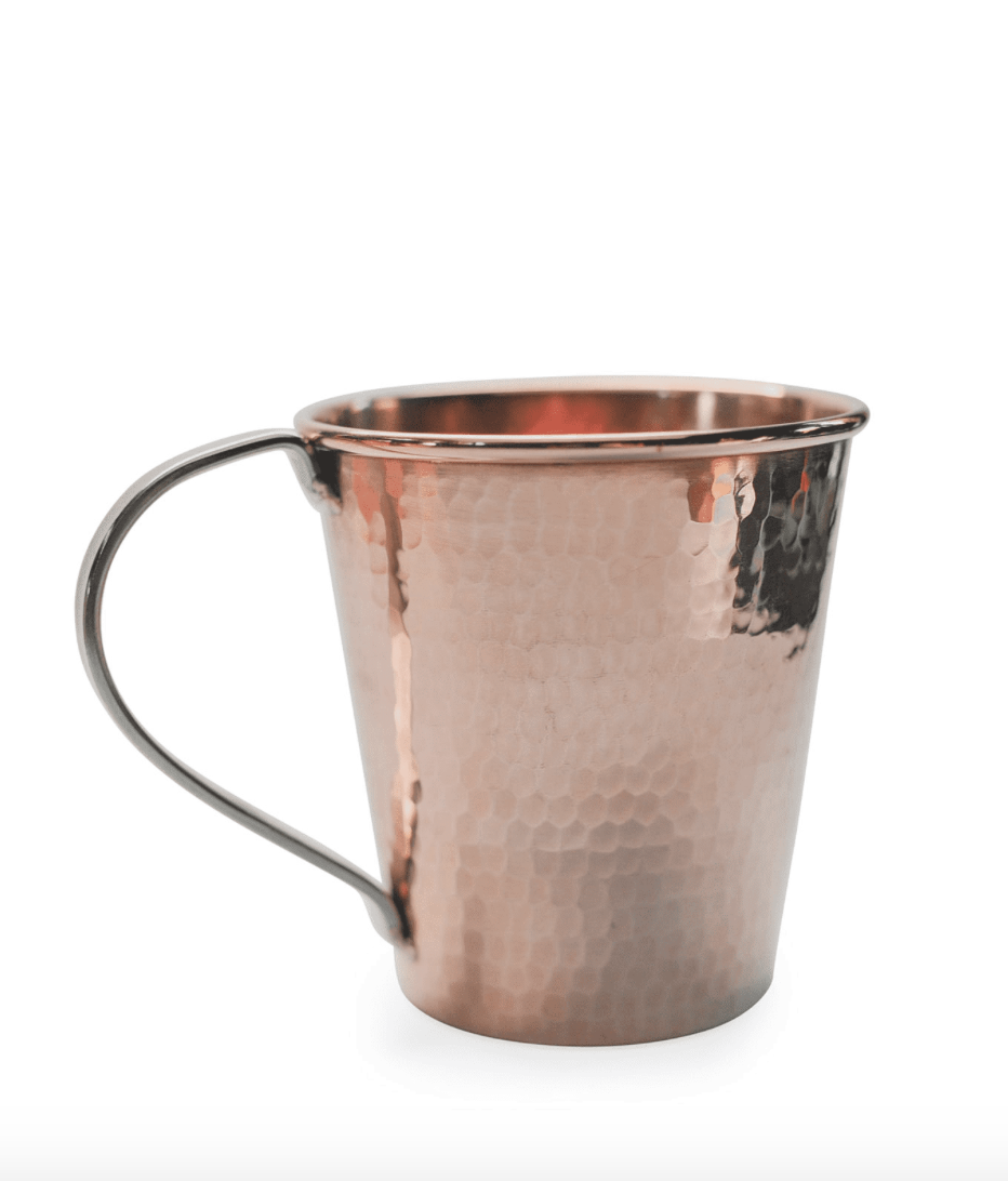 Sertodo Copper Moscow Mule Mug, 18oz. stainless handle