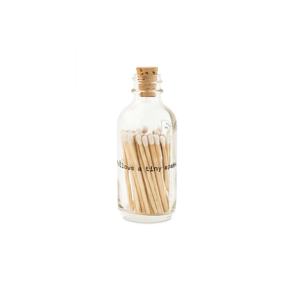 Skeem Design Apoth Match Jar Poetry Small