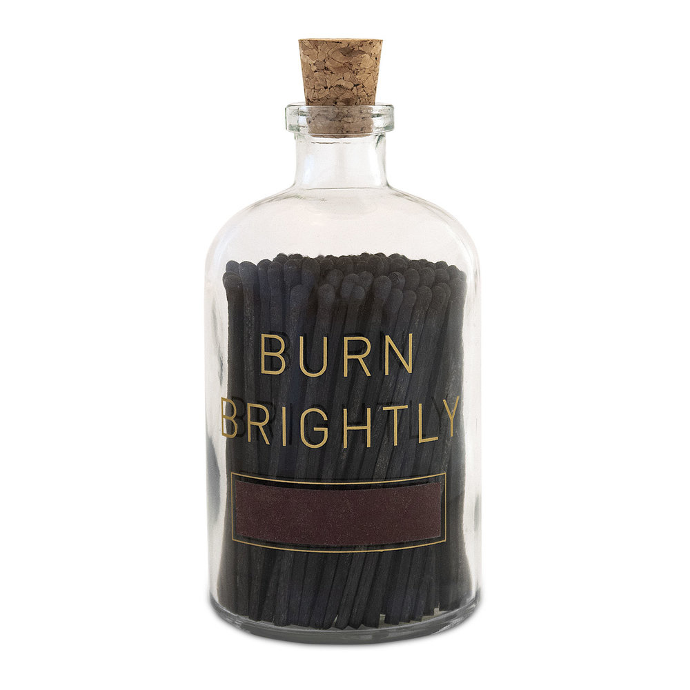 Skeem Design Burn Brightly Match Bottle