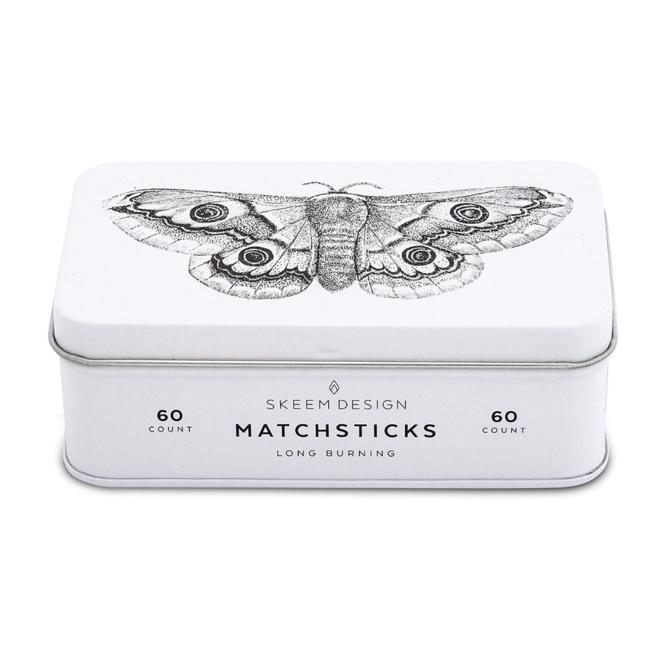 Skeem Design Moth Match Tin