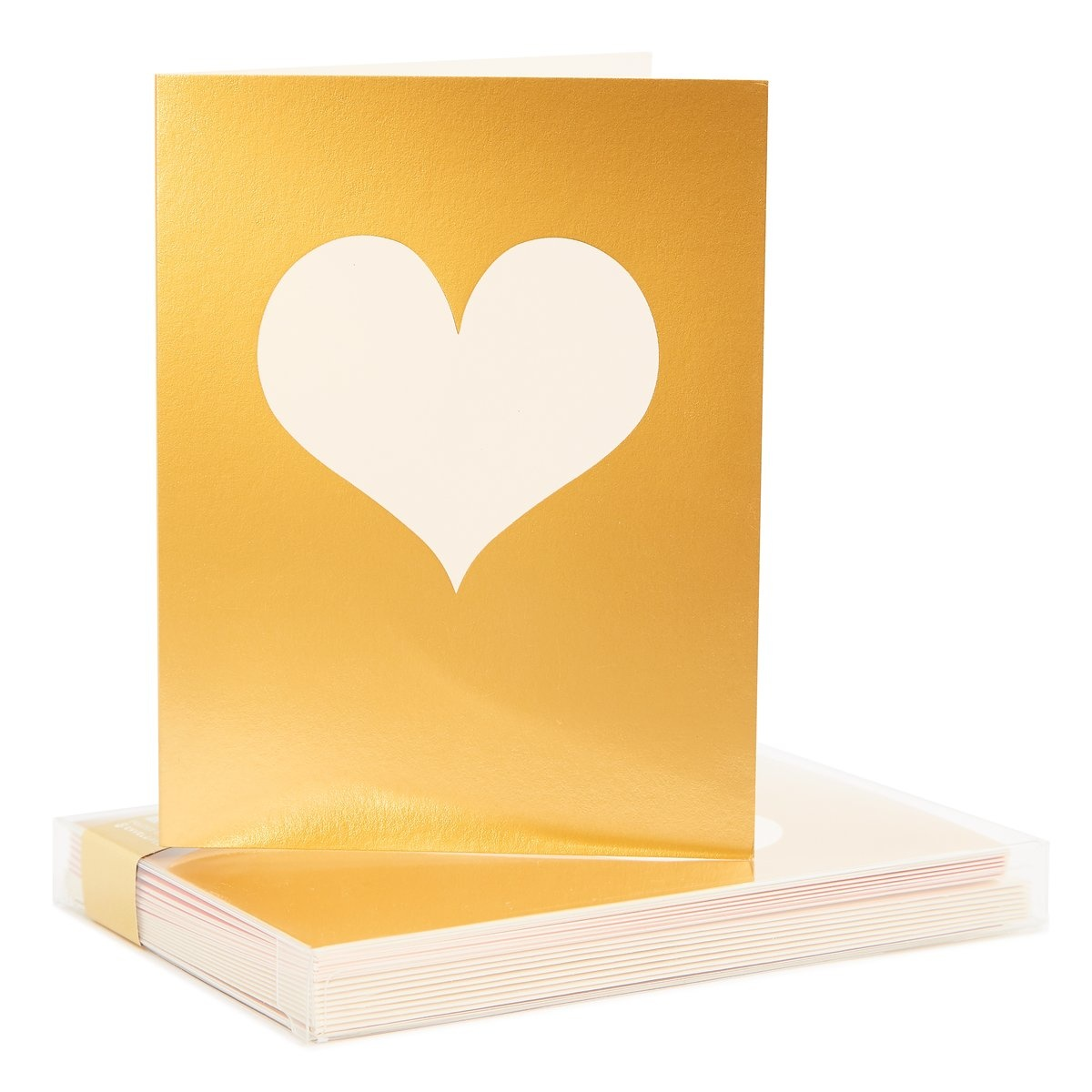 Snow & Graham #141 Gold Heart