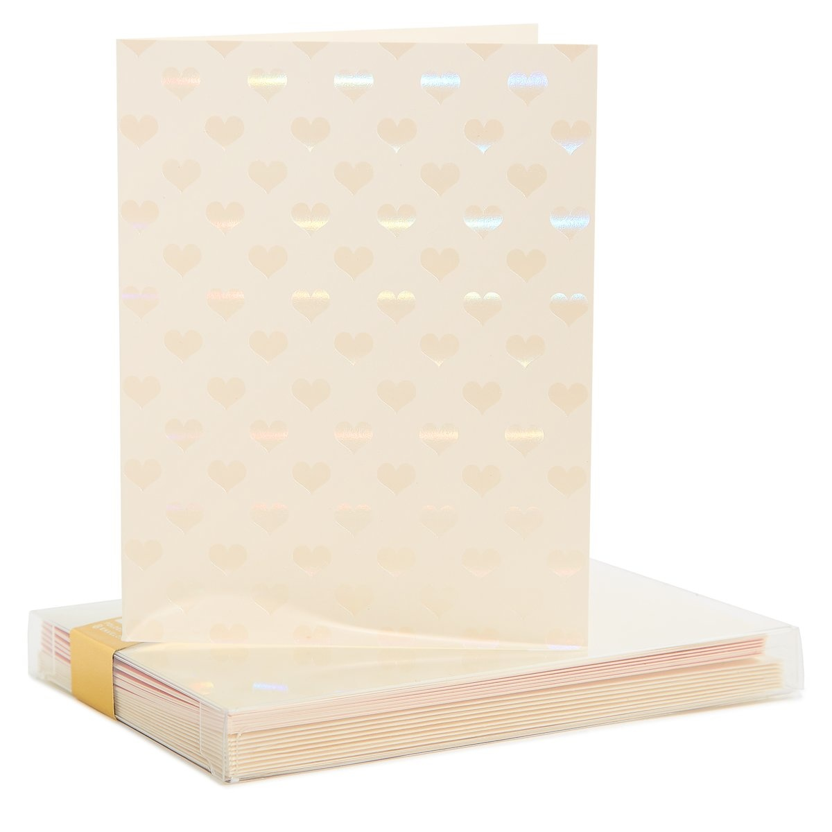 Snow & Graham Boxed #3235 Shimmer Hearts