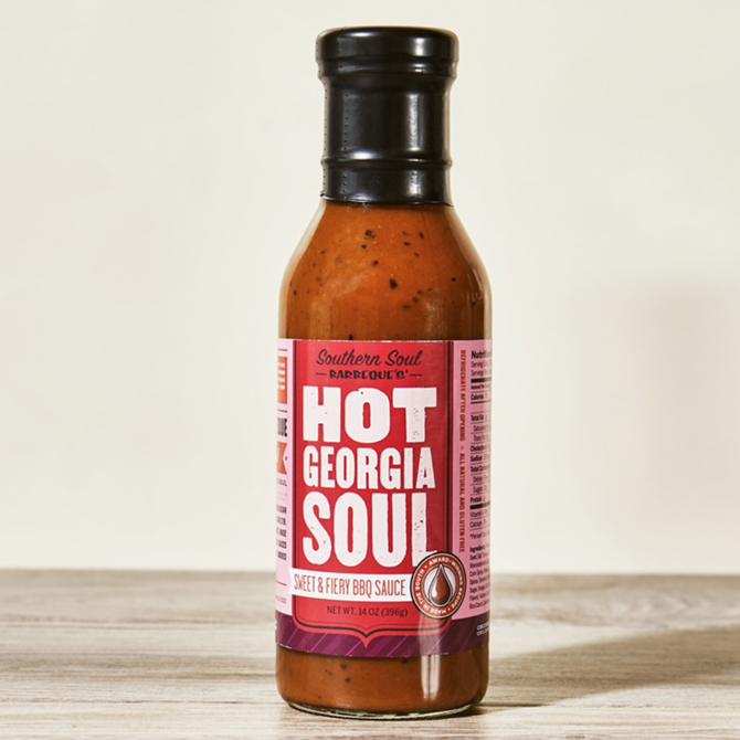 Southern Soul BBQ BBQ Sauce - Hot Georgia Soul