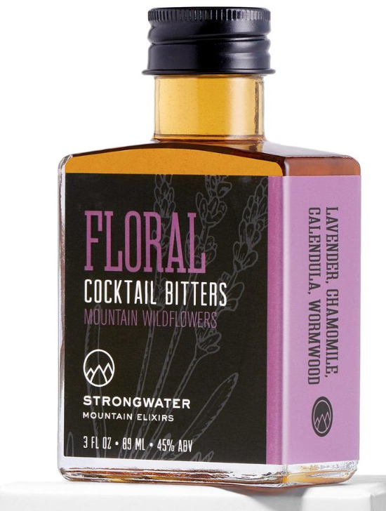 Strongwater Floral Lavender Bitters