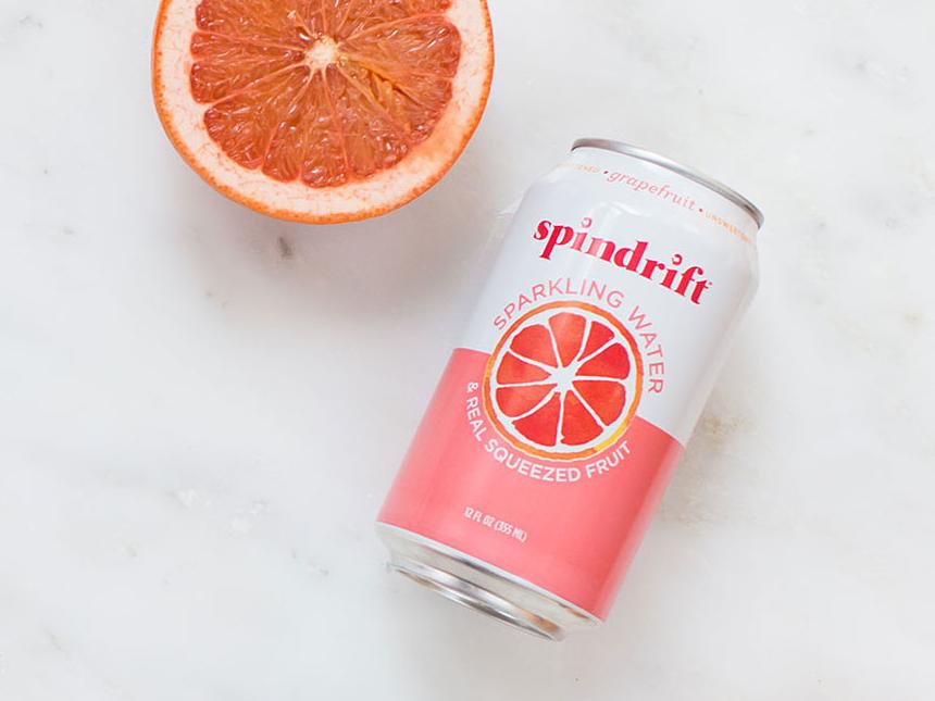 Sugarfoot Spindrift Soda Grapefruit