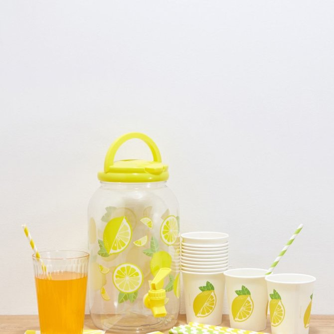 Sunny Life Drink Dispenser Kit Lemonade