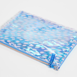 Sunny Life See Thru Pouch Bloom Blue
