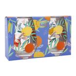 Sunny Life Stemless Glasses Dolce Vita Set 2