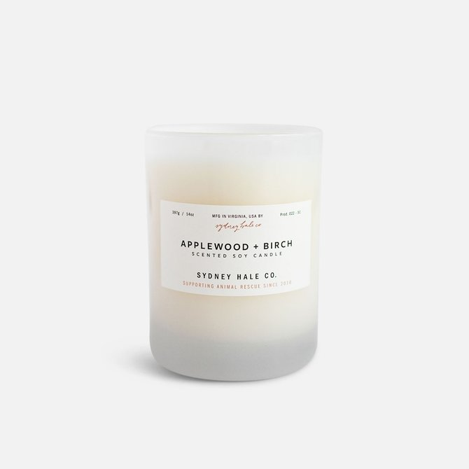 Sydney Hale Co Applewood & Birch Candle