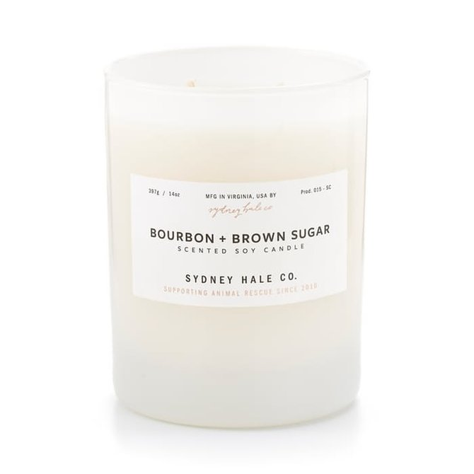 Sydney Hale Co Bourbon & Brown Sugar Candle