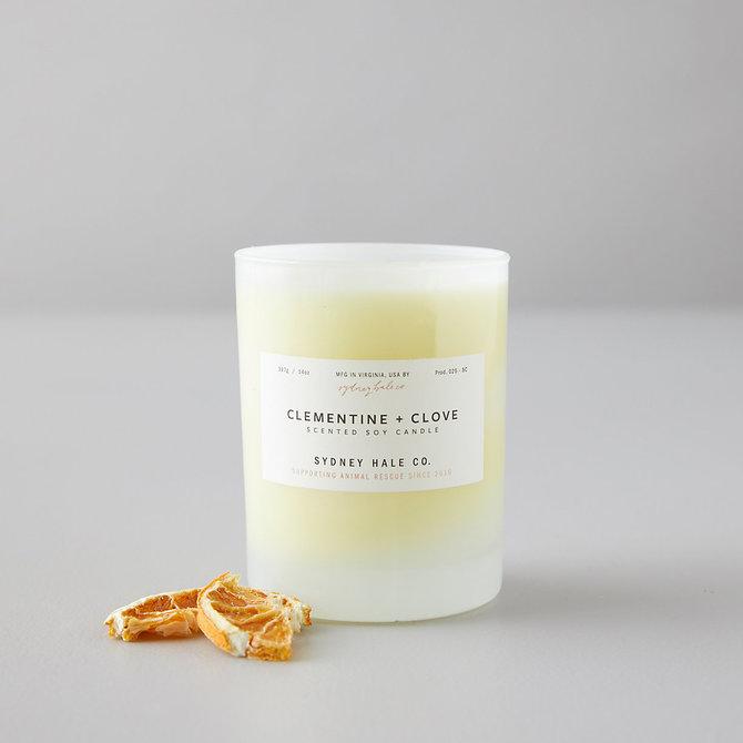 Sydney Hale Co Clementine & Clove candle