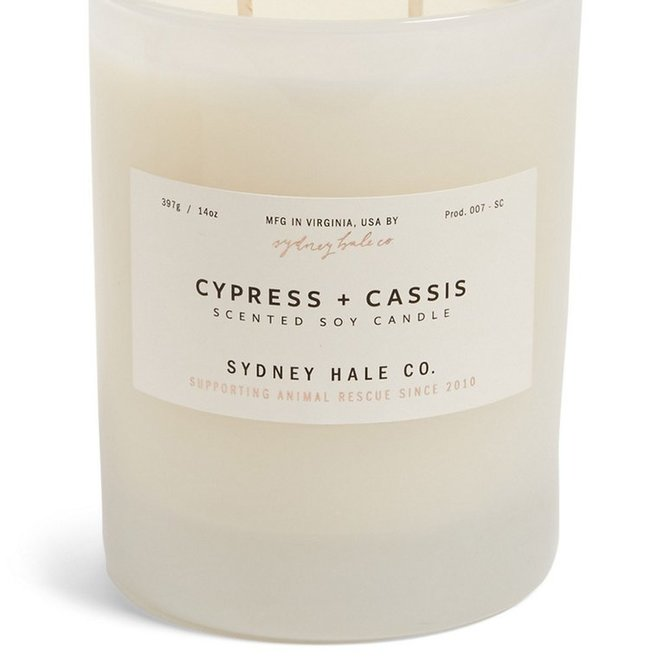 Sydney Hale Co Cypress & Cassis Candle