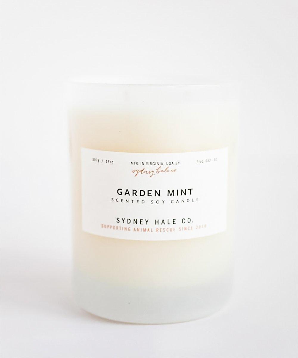 Sydney Hale Co Garden Mint Candle