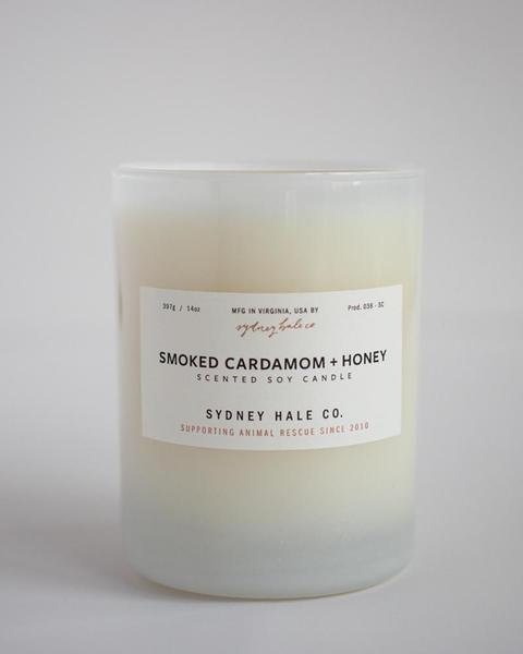 Sydney Hale Co Smoked Cardamom + Honey Candle