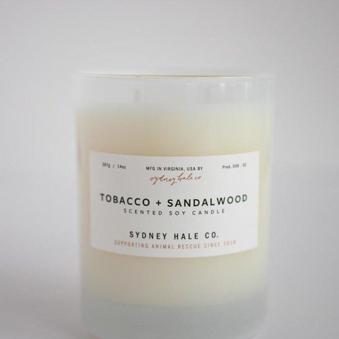 Sydney Hale Co Tobacco + Sandalwood Candle