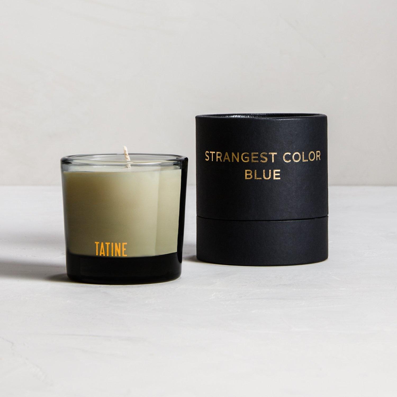 Tatine Strangest Color Blue 2oz Votive
