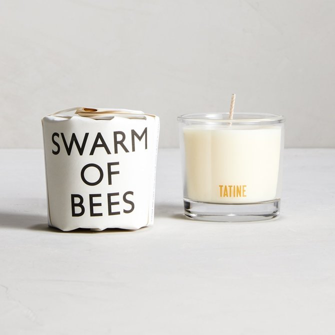Tatine Swarm of Bees 2oz Votive