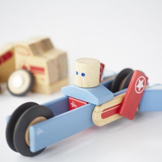 Tegu Jumper Magnetic Wooden Block Set
