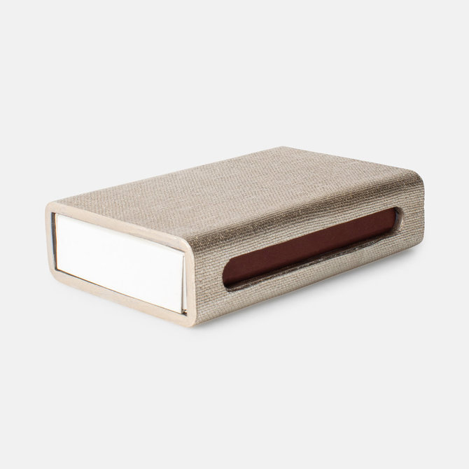 Thucassi Matchbox Faux Linen